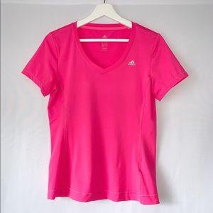 Adidas - Bright Pink Top